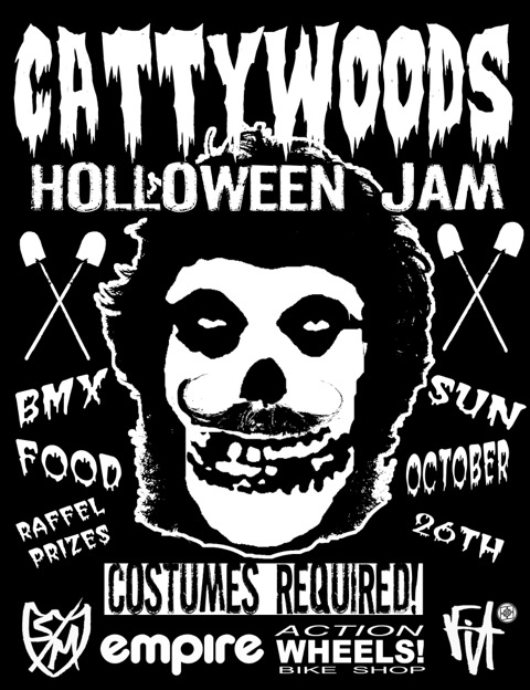 cattywoodsholloweenflyer